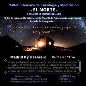 Las 4 Direcciones del Ser. El Norte. Madrid. @ FISIOLUMA