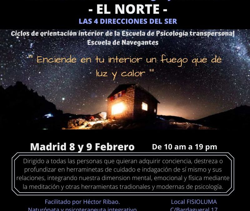 Las 4 Direcciones del Ser. El Norte. Madrid.